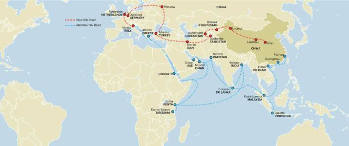 yachting in china one belt one road