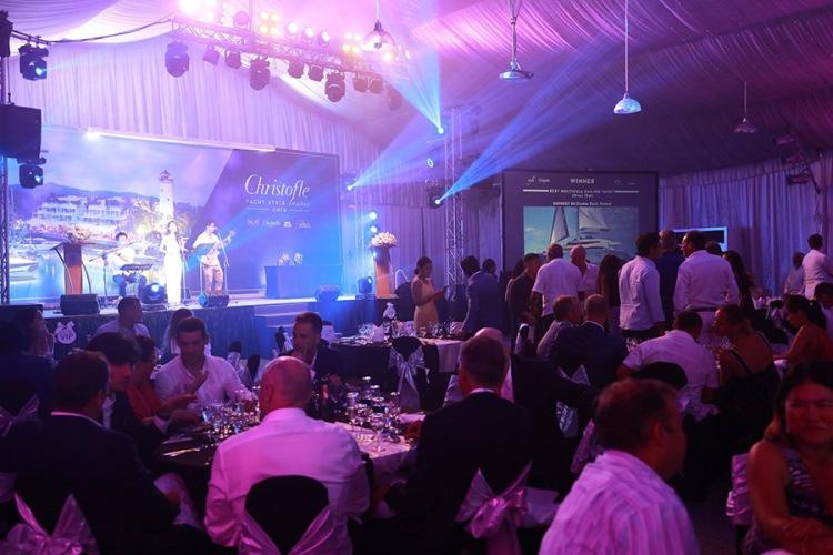 christfofle yacht style awards