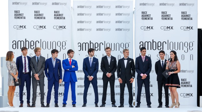 Amber Lounge - F1 Drivers on the Catwalk