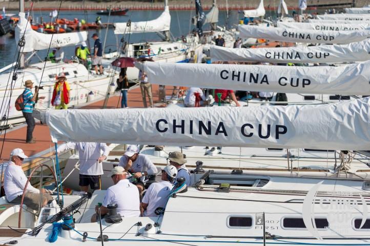 china cup sailing