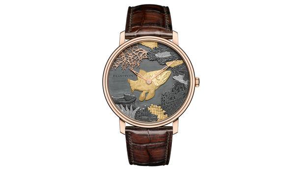 luxury blancpain watch