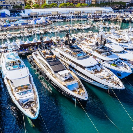 port hercules monaco yacht show