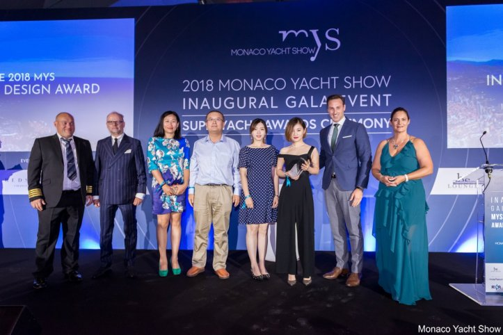 monaco yacht show gala night